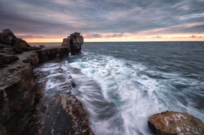photos of Dorset - Pulpit Rock