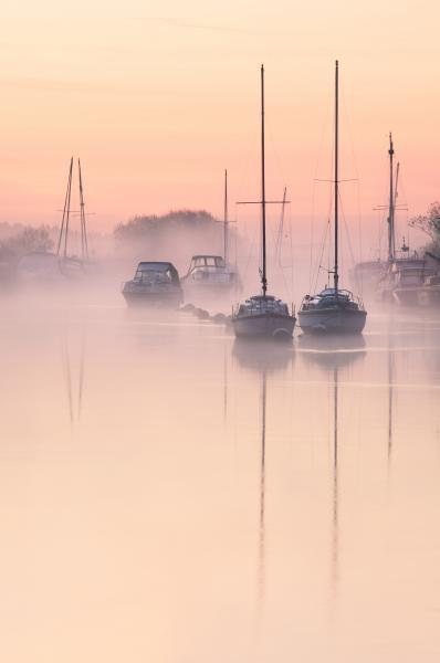 photography locations in England - River Frome at Wareham