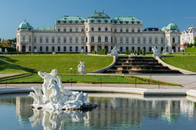 Wien photography locations - Belvedere Palace I