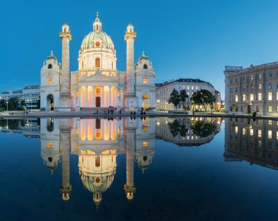 photography locations in Austria - Karlskirche