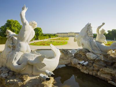photography locations in Wien - Neptune Fountain