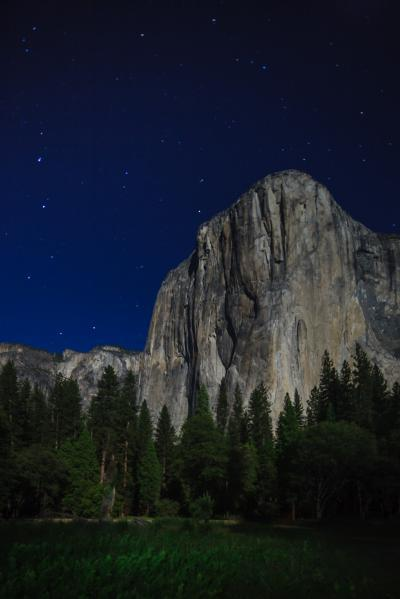 California photography locations - El Capitan Meadow