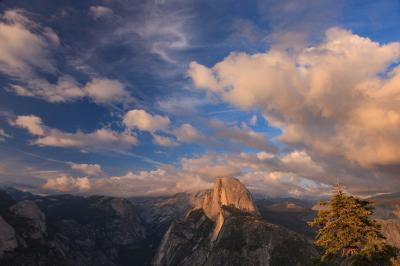 photo spots in California - Glacier Point