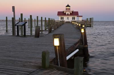 North Carolina instagram locations - Manteo and the Roanoke Marshes Lighthouse