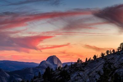 California photography spots - Olmsted Point