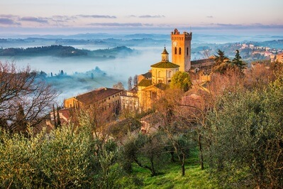 Photography locations in  San Miniato, Tuscany