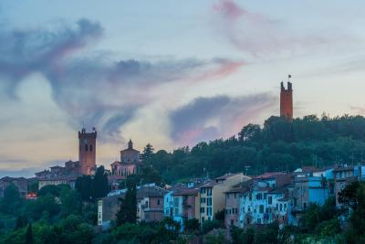 San Miniato, Tuscany photography guide - View of Torre di Matilde