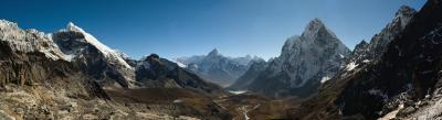 photo locations in Nepal - Cho La pass