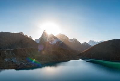 photo locations in Nepal - Gokyo Lake