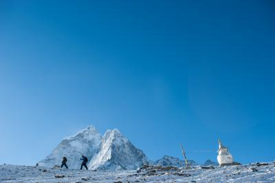 Nepal photography locations - Dingboche chortens