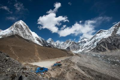 Everest Region photography locations - Gorek Shep