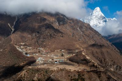 Khumjung photo locations - Phortse