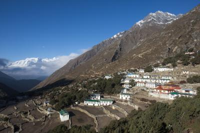 Khumjung photography spots - Old Pangboche