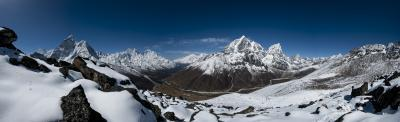 Nangkartsang viewpoint above Dingboche