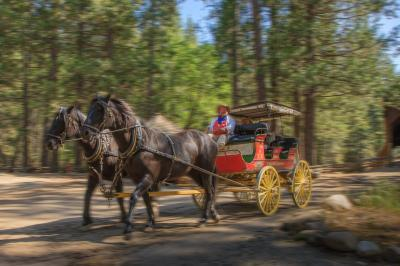 California photography spots - The Pioneer Yosemite History Center