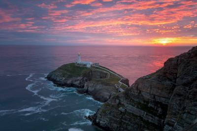 photo locations in North Wales - South Stack Lighthouse