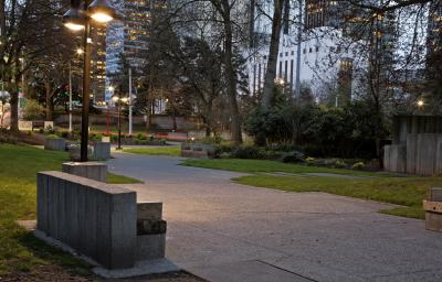 photos of Seattle - Freeway Park