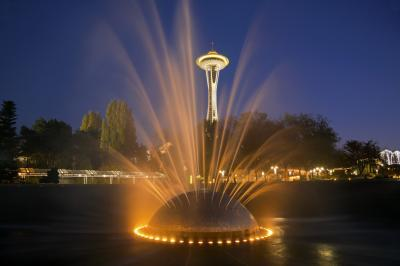 images of Seattle - International Fountain, Seattle Center