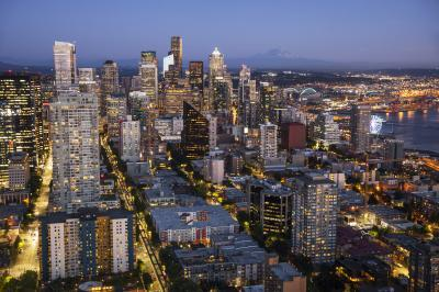 photo spots in King County - Space Needle; Seattle Center