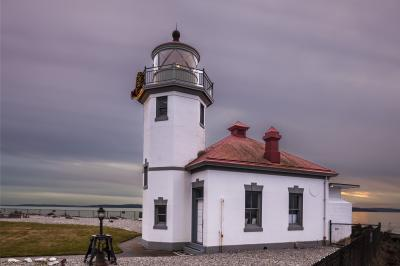 images of Seattle - Alki Point Lighthouse