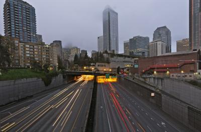 pictures of Seattle - Melrose Ave E; (I-5 Overpasses)