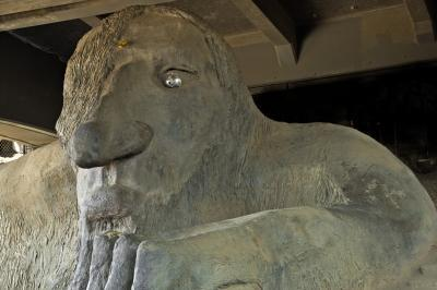 images of Seattle - The Fremont Troll