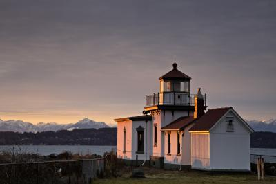 King County photo spots - West Point Lighthouse at Discovery Park