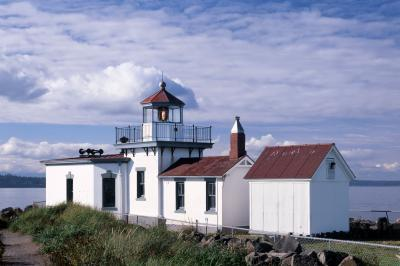 photos of Seattle - West Point Lighthouse at Discovery Park