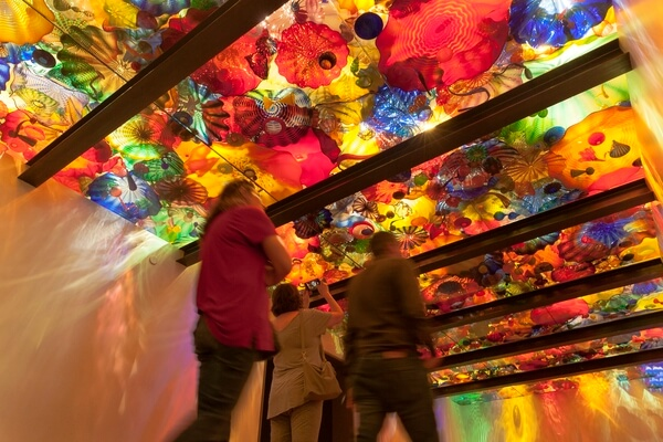 The Chihuly Garden and Glass – Seattle Center