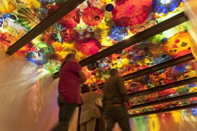 images of Seattle - The Chihuly Garden and Glass – Seattle Center