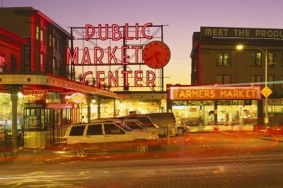 photography spots in King County - Public Market Center (Pike Place Market)
