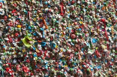 photos of Seattle - The Gum Wall