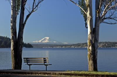 pictures of Seattle - Seward Park