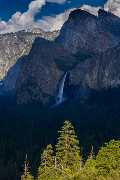 Bridalveil Fall, Tunnel View