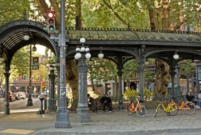 King County instagram spots - Pioneer Square