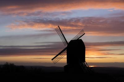 photography spots in England - Brill Windmill