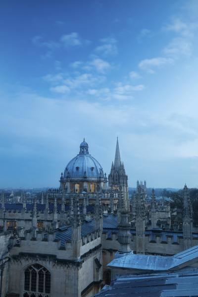 Oxfordshire photo locations - Sheldonian Theatre viewpoint