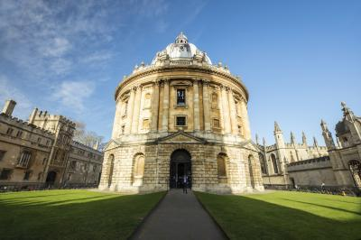 Oxfordshire photography spots - View of the Radcliffe Camera