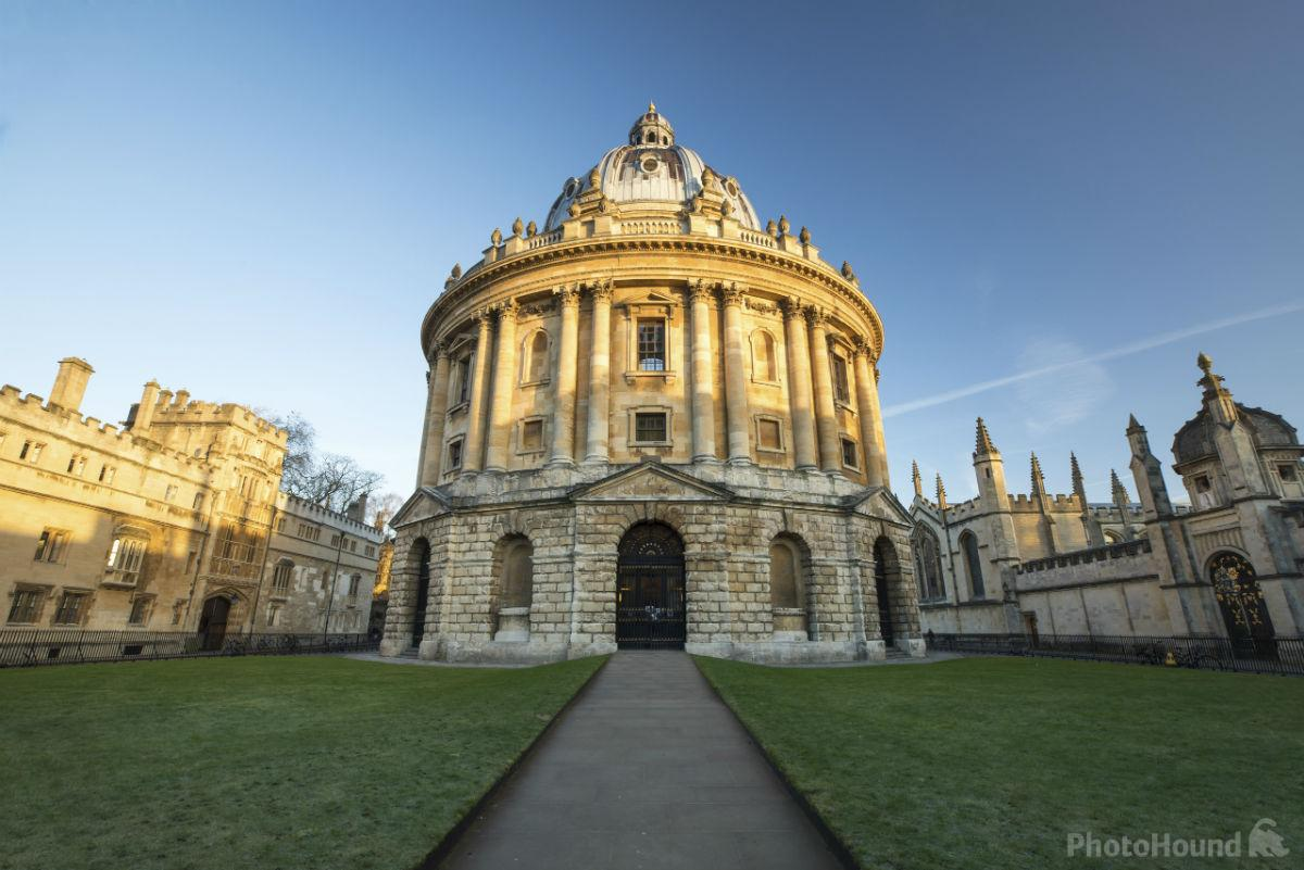 View of the Radcliffe Camera