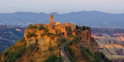 Rome photo guide - Civita di Bagnoregio