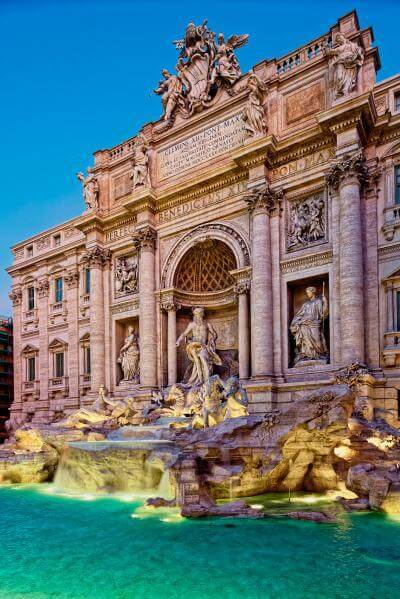 Rome photo locations - Fontana di Trevi