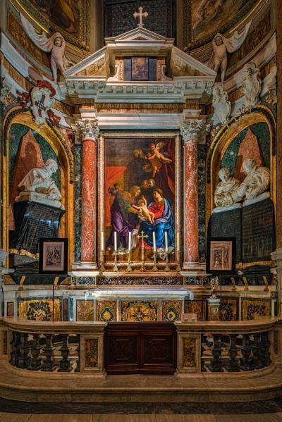 photo locations in Rome - Santa Maria dell'Anima