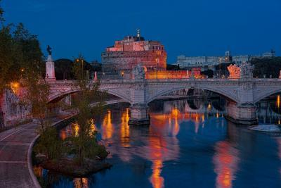 Rome photo spots - Castel Sant'Angelo West View