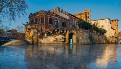 Rome photography locations - Isola Tiberina