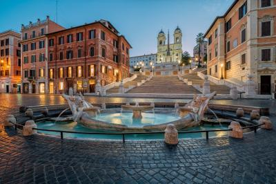 photography locations in Rome - Piazza di Spagna