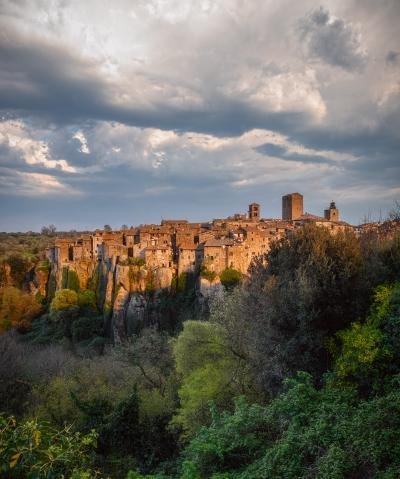 Rome photo locations - View of Vitorchiano