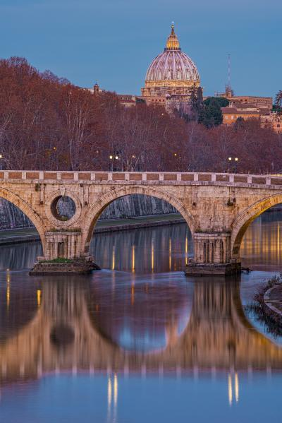 Rome photography spots - Ponte Sisto View