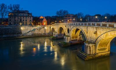 Rome photo locations - Ponte Sisto
