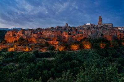 Rome photo guide - View of Pitigliano