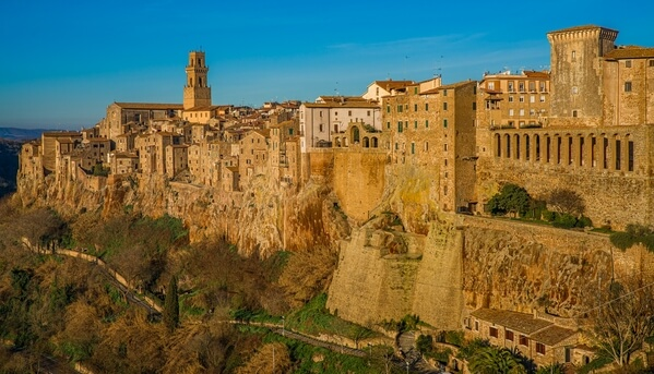 View of Pitigliano